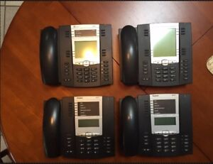 Aastra Voip Phones Set Of 4