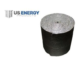 Reflective Foam Insulated Aluminum Foil Spiral Duct Pipe Wrap Roll 6 X 500 R7
