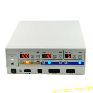 300w High Frequency Electrosurgical Unit Diathermy Cautery Machine 220 110v