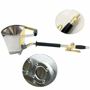 Cement Mortar Concrete Air Stucco Sprayer Hopper Wall Plastering Paint Gun Tools