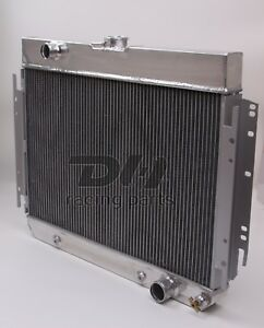 3 Rows Aluminum Radiator For 1963 1967 1964 1965 66 Chevy Bel Air 1960 65 Impala