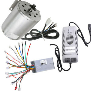 Dc 48v 1800w Brushless Motor Controller Charger E bike Scooter Bicycle Atv Buggy