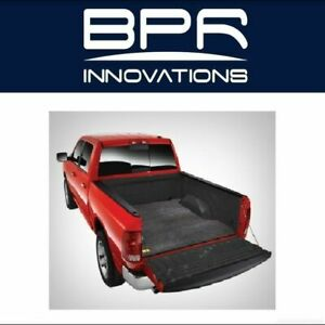 Bedrug 2 piece Bed Mat Fits Spray in no Liner For Honda Ridgeline bmh17rbs