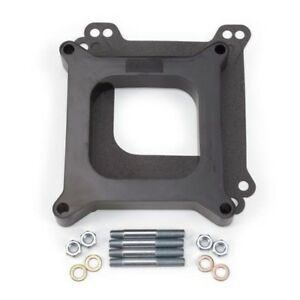 Edelbrock 8710 4 Barrel Carburetor Spacer Phenolic 1 Inch