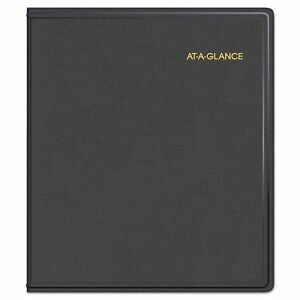 At a glance Refillable Multi year Monthly Planner 9 X 11 White 2018 2022