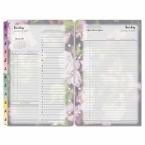 Blooms Dated Daily Planner Refill January december 4 1 4x6 3 7 2016 best Price