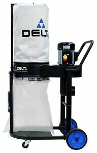 Delta Power Equipment 50 723t2 1 Hp Dust Collector Black