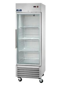Arctic Air 1 glass Door Refrigerator New Agr23 Free Shipping