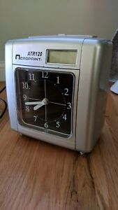 Acroprint Atr120 Payroll Time Clock