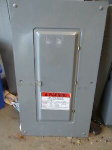 Square D Qo427m100 100 Amp 3 120 208v 30 Circuit Load Center E2313
