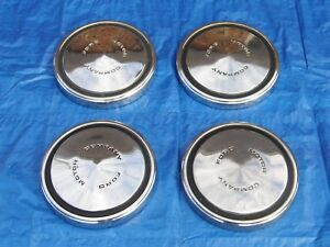 1970 Ford Dog Dish Hubcaps