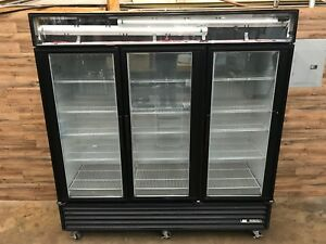 2011 True Gdm 72f 78 Glass Door Reach In Freezer