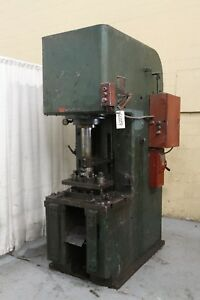 50 Ton Denison C Frame Hydraulic Press Yoder 62229