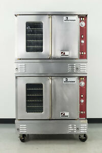 Used Southbend Xs 20a Double Deck Gas Convection Oven Full Size