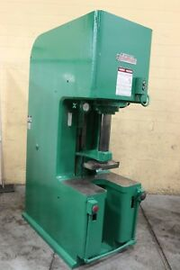 50 Ton Denison Hydraulic C Frame Press Yoder 68284