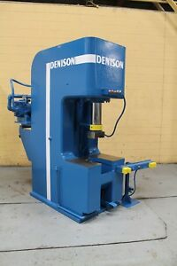 50 Ton Denison Hydraulic C Frame Press Yoder 63220