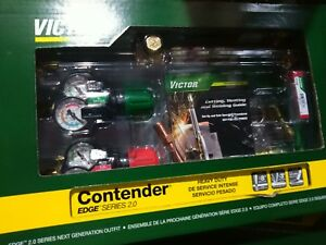 0384 2130 Victor Contender Torch Kit Set With Regulators Replaces 0384 2050