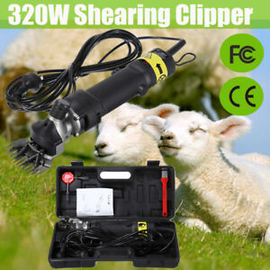 320w Sheep Shears Goat Clippers Animal Shave Grooming Farm Livestock Supplies Us