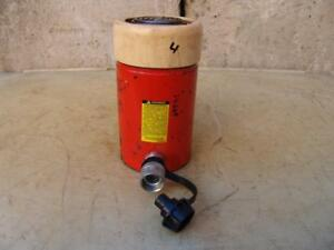 Spx Power Team C554c Single Acting Hydraulic Cylinder 55 Ton Works Great 3