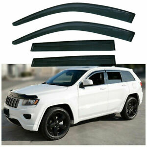 Window Visors Shades Shade Visor Rain Guards For Jeep Grand Cherokee 2011 2018