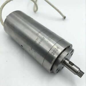 Ac36v Spindle Motor Natural Cooling 95w D48mm 2bearings 60000rpm High Speed Cnc