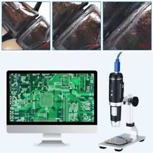1000x Usb3 0 Digital Microscope Electronic Magnifier 5mp Hd Camera With Holder