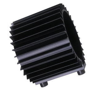 1 X Engine Oil Filter Cooler Heat Sink Cover Cap Aluminum Alloy Kit Black