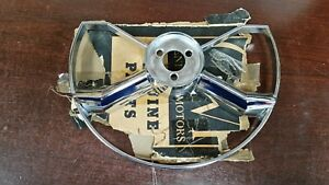 Nos Gm 1949 52 Chevrolet Passenger Car Butterfly Horn Blowing Ring 757516