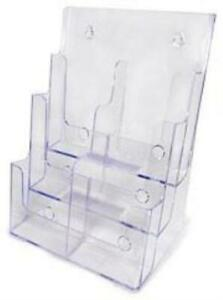 6 pocket Literature Display stand up Or Wall mount
