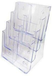 8 pocket Literature Display stand up Or Wall mount