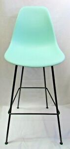 Herman Miller Eames Mid Century Office Matte Turquoise With Black Base Chair
