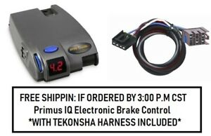 90160 Tekonsha Brake Control With Wiring Harness 3020 For 1995 2011 Dodge