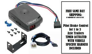Pro Series 80550 Brake Control For Toyota Tacoma Tundra With Harness