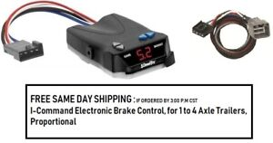 5535 Draw Tite Brake Control With Wiring Harness 3021 For 2010 2012 Dodge Ram