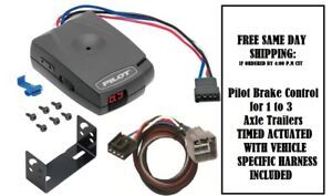 80550 Pro Series Brake Control With Wiring Harness 3021 For 2010 2012 Dodge Ram