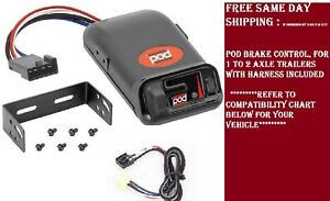 Pro Series 80500 Brake Control For Chevrolet Tahoe For 2015 2016