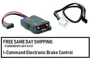 Draw Tite 5504 Brake Control For Toyota Tacoma For 2016 2019