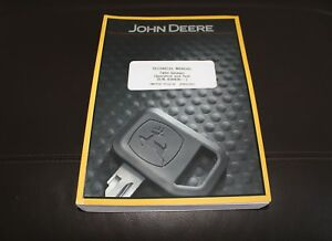John Deere 748h sn 630436 Skidder Service Operation Test Manual Tm11797