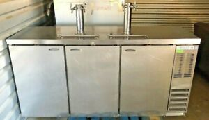 Beverage Air 72 Inch Stainless Steel Kegerator Made In Usa