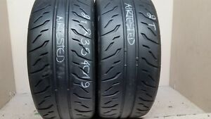 2 Tires 235 40 19 Bridgestone Potenza Re 71r 99 Tread