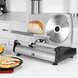 Professional Food Slicer Meat Vegetables Slicing Cutter Electric 7 5 Blade Us