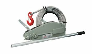 Wire Rope Puller Wirep b35 Lift Capacity 3 500 Pull Capacity 5 200