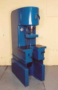 8 Ton Denison C frame Hydraulic Press Yoder 8592