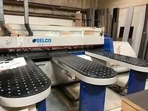 Biesse Selco Cnc Automatic Beam Saw Eb110 Woodworking Cabinet Making Panel Saw