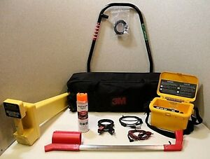 3m Dynatel 2273 Cable pipe fault Locator Set W Bag Aframe 100 Tested