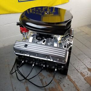 Sb Chevy Cadillac Air Cleaner Tall Retro Engine Valve Covers No Breathers 350 V8