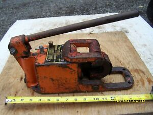 Pell Hydroshear Model P Cable Cutter 1 1 8 Wire Capacity