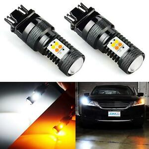 Extremely Bright 3030 Chipsets White yellow 3157 3155 3457 Switchback Led Bulbs