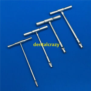 4pcs set Hollow Mill For Removal Of Bone Screws Extractor Orthopedics Instrument