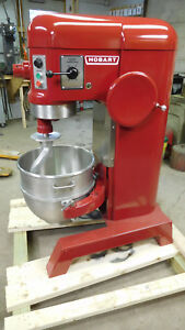Hobart 60qt Mixer H600 With New Bowl Dough Hook 220 Volt 3 Phase 2hp
